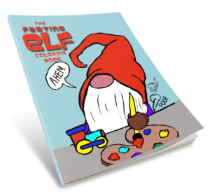 Elf Farting Coloring Book